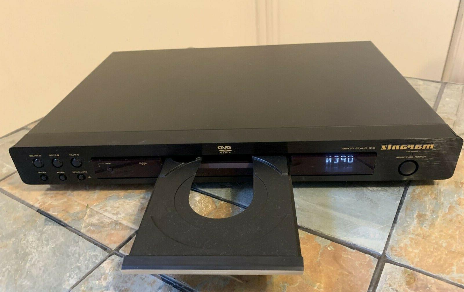 Marantz DV4001 Progressive DVD Dual D/A