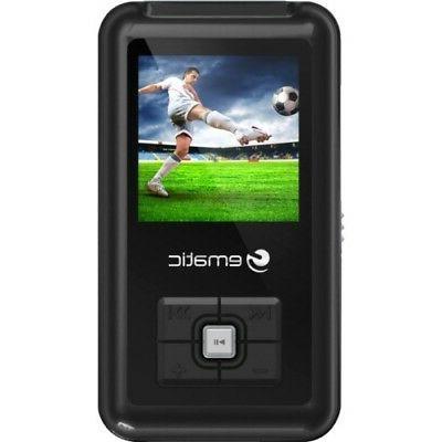 em208vid black flash portable media
