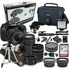 Canon EOS 80D Digital SLR Camera - Accessory Bundle