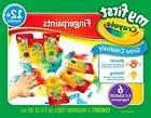 Crayola Finger Paint 81-1429 washable FingerPaint Easy Squee