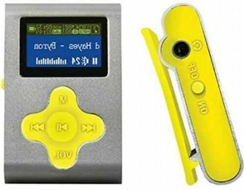 fit clip 4gb rechargeable mp3 player available