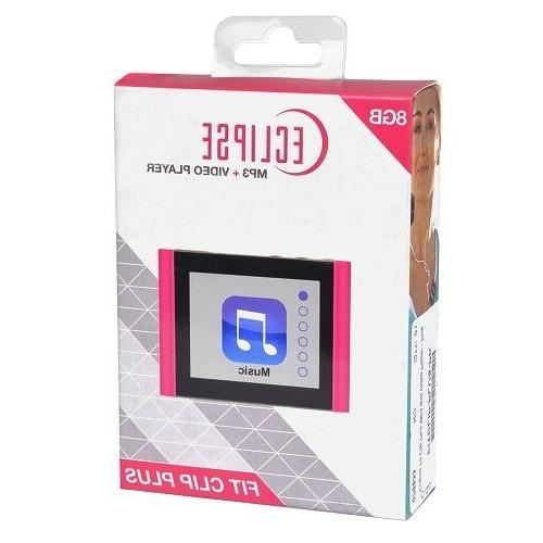 "Eclipse Fit Clip Plus 8GB 1.8"" LCD Digital &"
