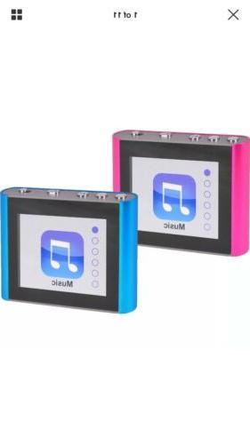 "Eclipse Fit Clip Plus 8gb 1.8""lcd MP3 Digital Music Video Pl"