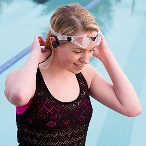 Swimbuds Waterproof Headphones and 8 GB Waterproof MP3 with Shuffle