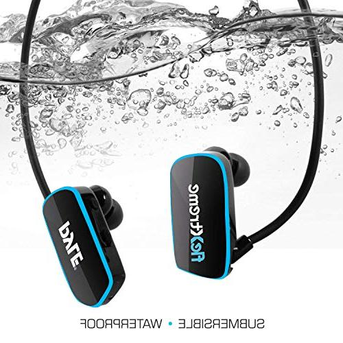Pyle Waterproof MP3 Player Flextreme Sports Headset Music Player 8GB Flexible Headphones -