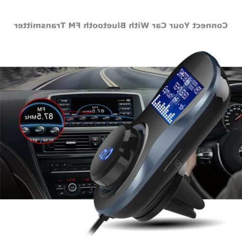 Dual USB Car Charger MMC MP3 Player Radios FM Transmitter fo