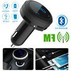 FM Transmitter Bluetooth 4.2 MP3 Player Radio Adapter Wirele
