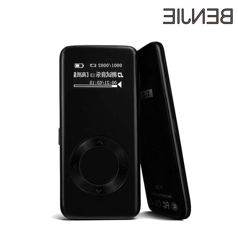<font><b>Benjie</b></font> Mini <font><b>MP3</b></font> Memory with FM Radio Recorder SD Portable Audio <font><b>Player</b></font>