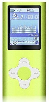 G.G.Martinsen Green Player with Micro SD card, Support