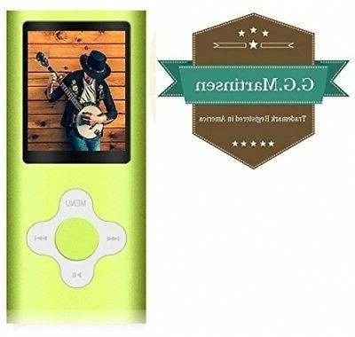 G.G.Martinsen MP3/MP4 Player a Micro SD