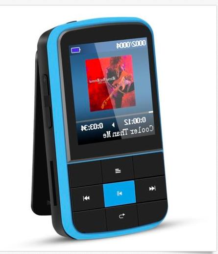 AGPTEK G15 Bluetooth 4.0 Playlist FM Blue
