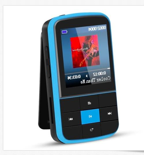 AGPTEK G15 4.0 MP3 Player Playlist FM Radio,