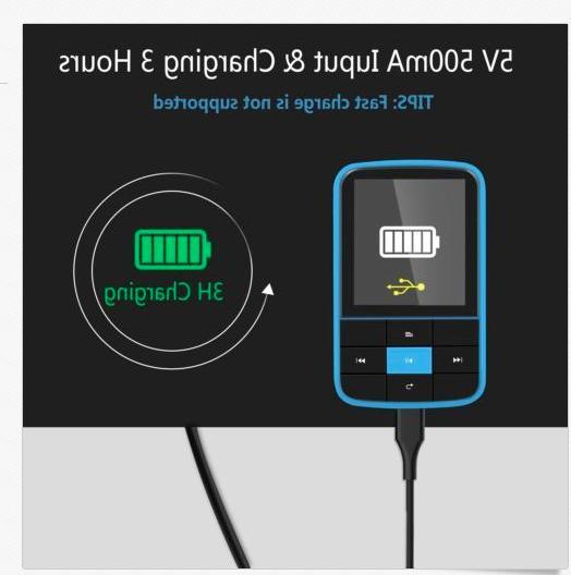 AGPTEK G15 Bluetooth Playlist Radio, Blue