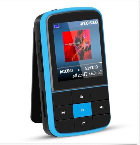 AGPTEK G15 16GB Bluetooth 4.0 MP3 Player Supports Playlist F