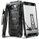 Evocel Galaxy S7 Edge Rugged Holster Case with Kickstand & B