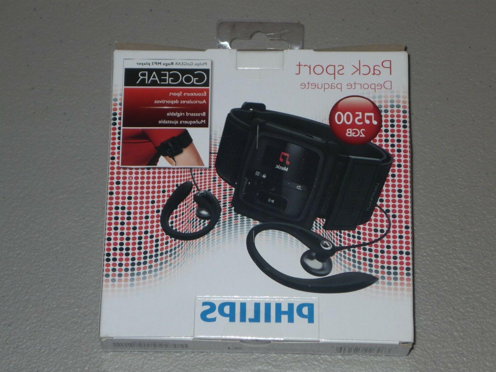 Philips Go Raga Mp3 Player Sport Pack