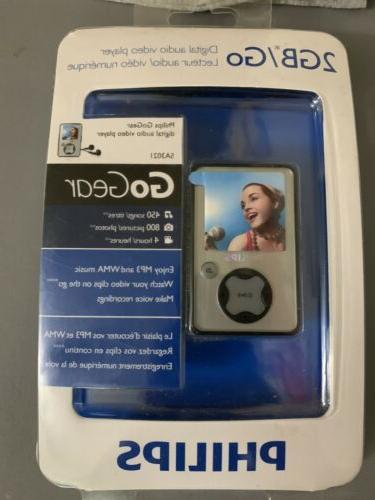 gogear sa3021 silver 2 gb digital media