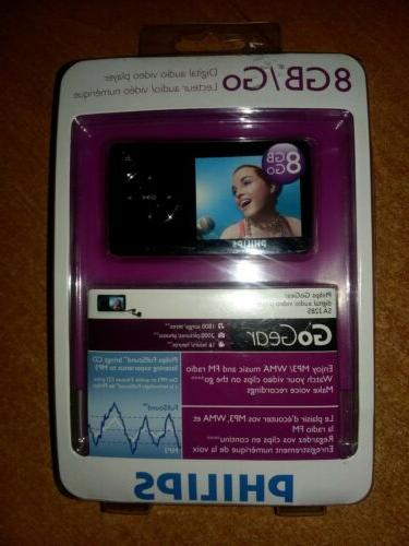 gogear sa3285 black 8 gb digital media