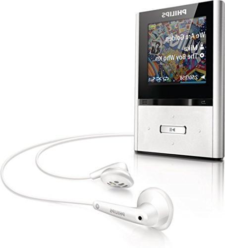 Philips GoGear MP3 Aluminum