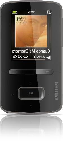 Philips GoGear Vibe 8GB MP3 Player SA3VBE08K/37