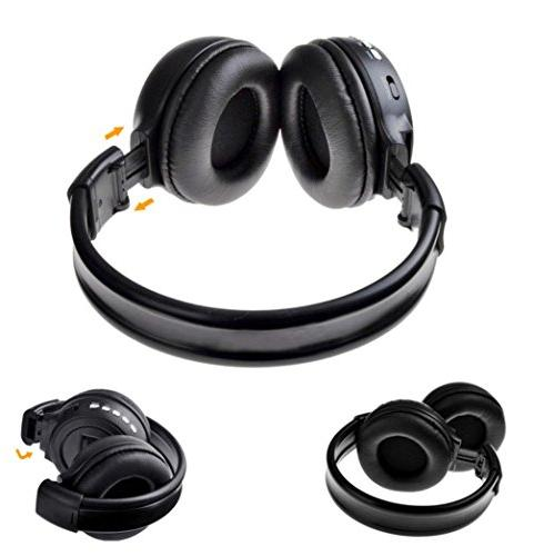 Gotd Stereo Wireless Headset/Headphones With Mic/Microphone For Iphone /Cell Phone/PC/Tablet/Desktop/Laptop/Notebook, /Supprot TF