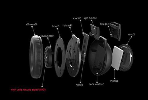 Gotd Wireless Headset/Headphones Call Phone/PC/Tablet/Desktop/Laptop/Notebook, MP3 /Supprot