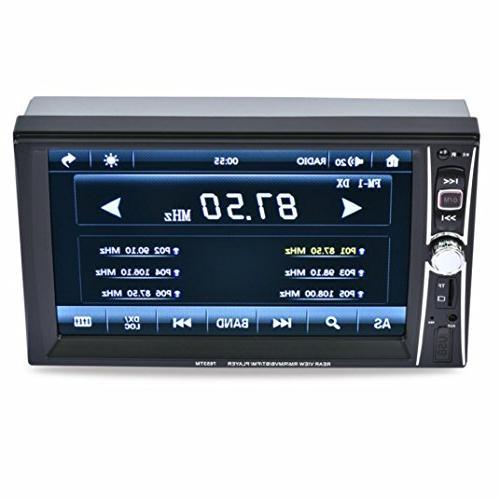 Gotd Din Touchscreen Car Player Camera