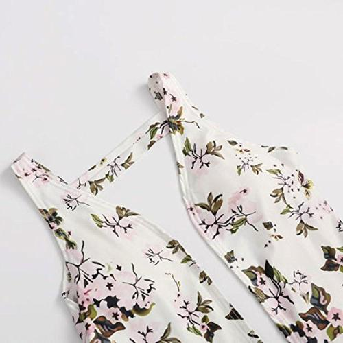 Gotd Backless Floral Swimwear Jumpsuit