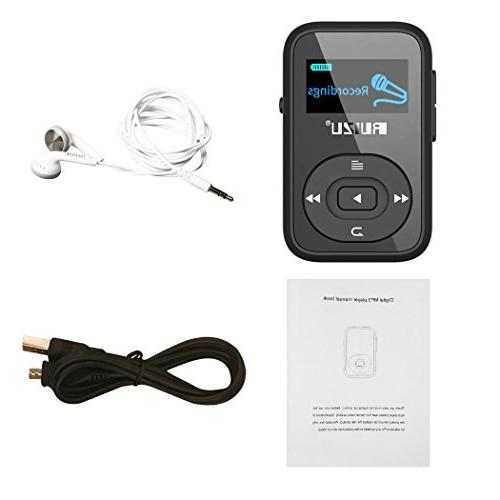 8GB Handy Portable Clip Bluetooth Player with FM Player for Running Support Up 64GB