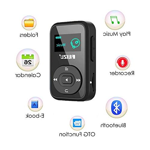 8GB Clip Player Radio/Voice Recorder/Calendar, Player Up to