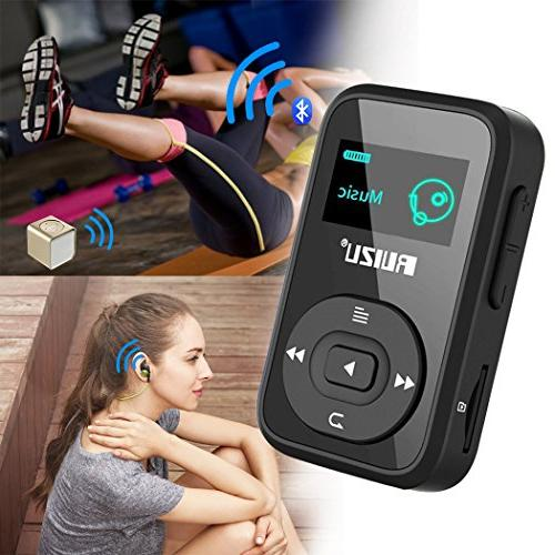 8GB Handy and Clip Bluetooth Player with FM Recorder/Calendar, Player Running Up to 64GB