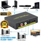 1080P HDMI to HDMI Optical + SPDIF + RCA L/R Extractor Conve