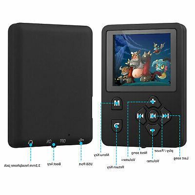 Portable MP4 Player with FM Video Hi-Fi Lossless Record