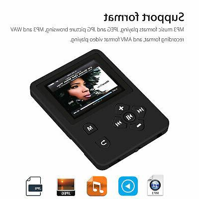 Portable MP3 Player with FM Video Hi-Fi Lossless Games Record