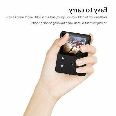 Portable MP4 Music Player with FM Video Hi-Fi Lossless Record