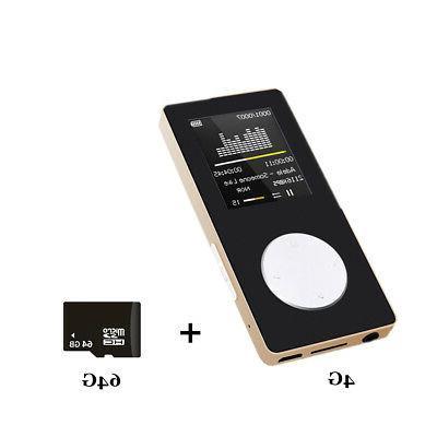 Hifi MP3 MP4 Screen FM + TF Card