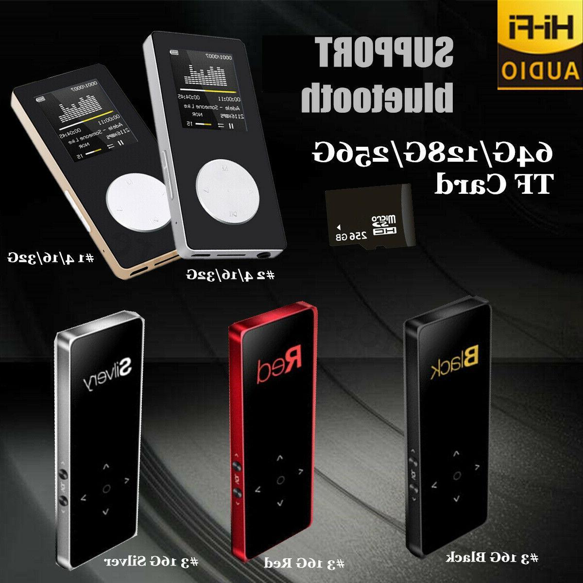 Hifi MP3 Music Player MP4 Touch + TF Card