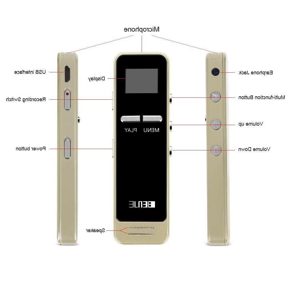 8GB FM Radio Recorder