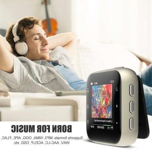 AGPTEK FM Radio Music to 128GB
