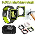 iWatch Case Cover Bumper for Apple Watch Series 3/2/1 Temper