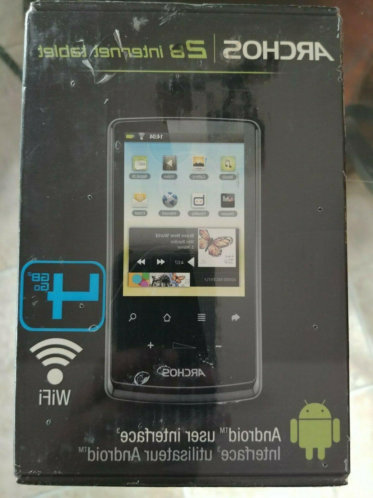 internet tablet 28 4gb wi fi 2