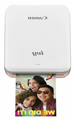 Canon IVY Mobile Mini Photo Printer through Bluetooth, Rose