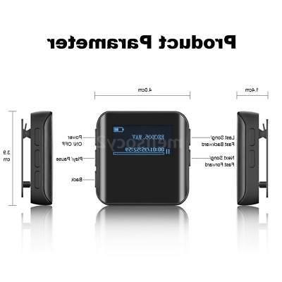 BENJIE 8GB Music Player HiFi Lossless MP3 Radio