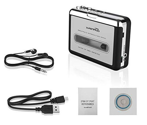 Tape to MP3 CD Converter Via Tape Converter MP3 Music Compatible and PC