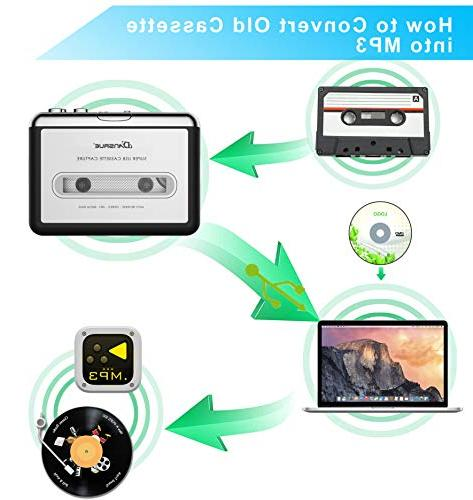Lastra Tape Converter USB,Cassette Tape Converter and PC