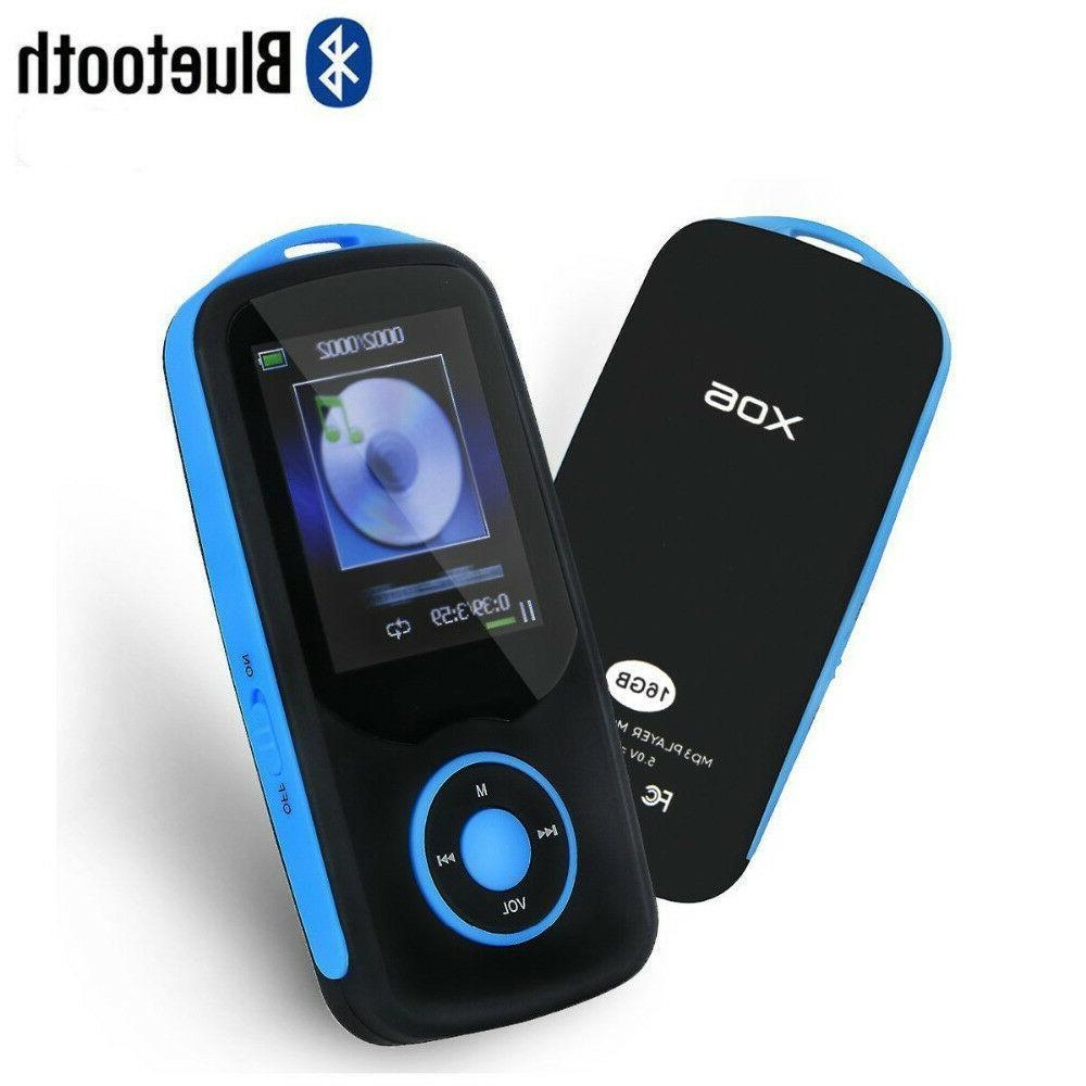 Latest Version RUIZU X06 Bluetooth MP3 Music Player 4GB with