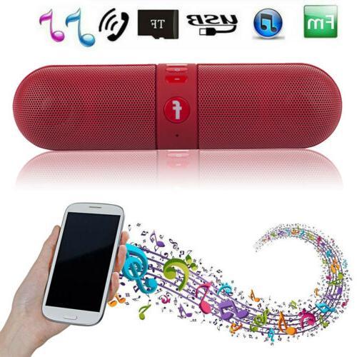 LOUD Bluetooth Waterproof Outdoor Stereo Bass USB/TF/MP3