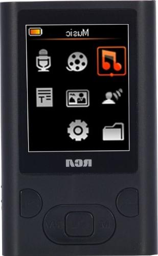 RCA M5504 MP3 Player with 1.8-Inch Display and 4GB Memory