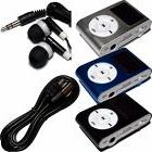 "Metal Generic MP3 Player w/ 1"" Display 2GB 4GB 8GB up to 32G"