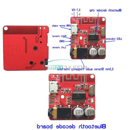 Micro USB 3.7-5V Audio Decoder Mini Bluetooth 4.1 MP3 Player